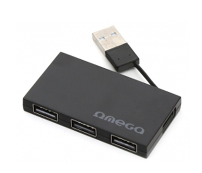USB HUB OMEGA OUH24BB 4 PORT