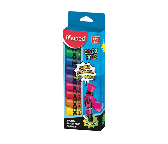 TEMPERE MAPED COLOR PEPS 12ML 1/12